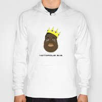 notorious big Hoodies featuring Notorious B.I.G. by Λdd1x7
