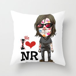 We love Norman! Throw Pillow