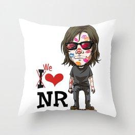 We love Norman! Throw Pillow