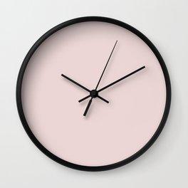 Mauve Morn Wall Clock