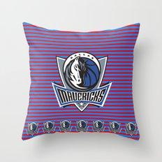 Mavericks Throw Pillow