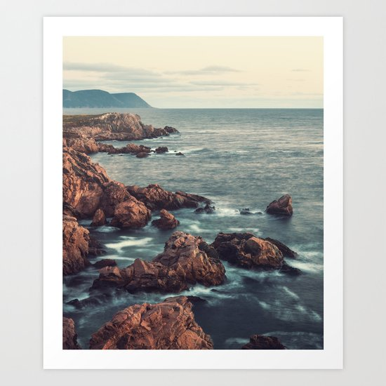 Rugged Coastline Art Print