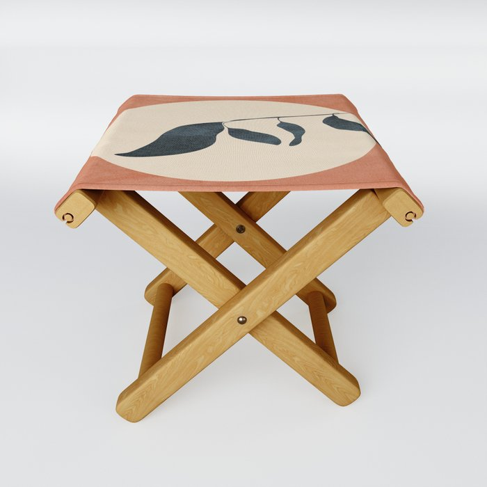 Summer Leaves Folding Stool