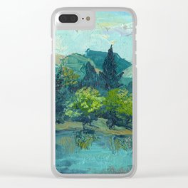 Lake Tekapo In Cambridge, New Zealand Clear iPhone Case