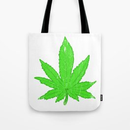 A Nice Cannabis Tee For High People Pot Medical Weed T-shirt Design Marijuana Medication Legalized Tote Bag