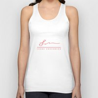 frank underwood Tank Tops featuring Frank Underwood signature by fofiane