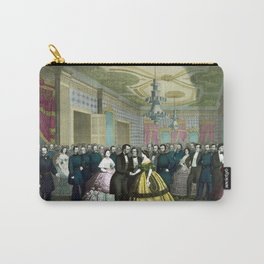 President Lincoln's Last Reception Carry-All Pouch