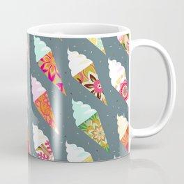 Mandala ice cream   gray  Coffee Mug