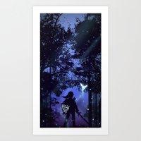legend of zelda Art Prints featuring Legend of Zelda by Noble-6