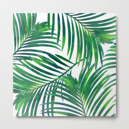 Palm Paradise #society6 #decor #buyart Metal Print