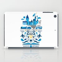 returns iPad Cases featuring Magick Returns by Aphichat Treetaruyanon