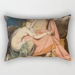 Jean-Auguste-Dominique Ingres - Jupiter and Thetis Rectangular Pillow