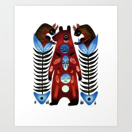 The Hand That Feeds You Art Print
