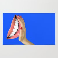 dentist Area & Throw Rugs featuring Playing At Home by Tyler Spangler