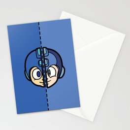 Old & New MegaMan Stationery Cards