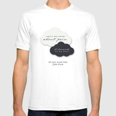 The Fault in Our Stars Mens Fitted Tee White MEDIUM