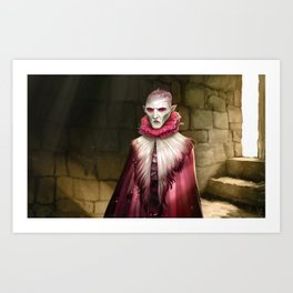 Vamphir Art Print