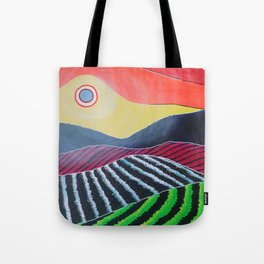 A Modern Winery Tote Bag
