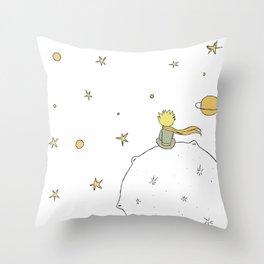 Little Prince III Throw Pillow
