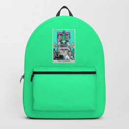 7. The Chariot- Neon Dreams Tarot Backpack