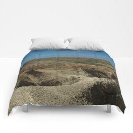 Amazing Badlands Overview Comforters