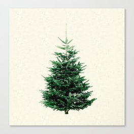 Christmas tree, a stylish alternative to a traditional one. Canvas Print