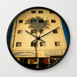 Venice Beach Los Angeles California Wall Clock