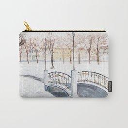 Locks on Little Lovers Bridge Carry-All Pouch