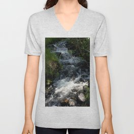 Shady Glen above Haviland Lake Unisex V-Neck