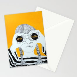 LOOK WITHIN Stationery Cards