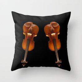 Stradivarius viloin twin Throw Pillow