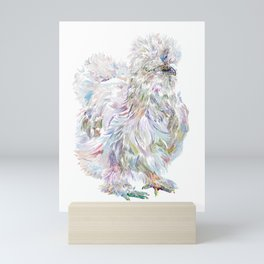 Silkie Chicken - Buchu Mini Art Print