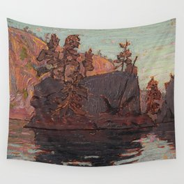 Tom Thomson - Petawawa Gorges - Canada, Canadian Oil Painting - Group of Seven Wall Tapestry