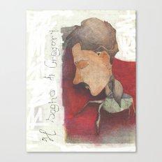 Gregor Samsa Canvas Print