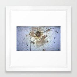 ground rust Framed Art Print