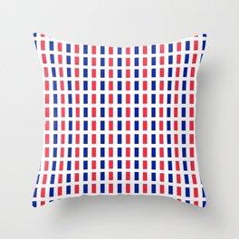 Flag of France 2- France, Français,française, French,romantic,love,gastronomy Throw Pillow