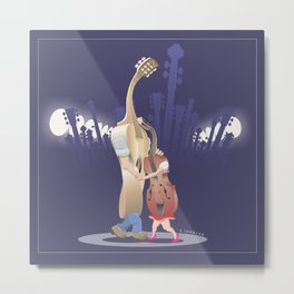 Slow Dance Metal Print