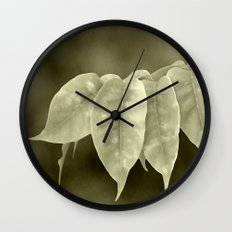 The curtain Wall Clock