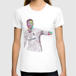 Real Madrid Sergio Ramos T-shirt