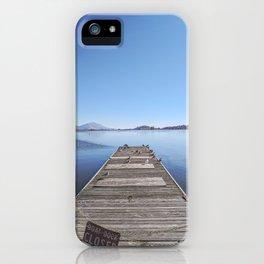 Closed Dock iPhone Case