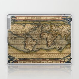 Antique Map of North and South America Laptop & iPad Skin