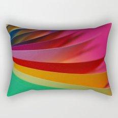 Colorful Paper Rectangular Pillow