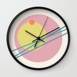 Juxtapose II Wall Clock
