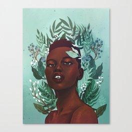 Garden Fantasy Canvas Print