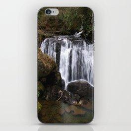 beautiful whatcom falls (square) iPhone Skin