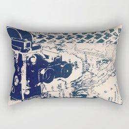 Cartographer Rectangular Pillow