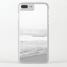 CALIFORNIA BEACH Clear iPhone Case