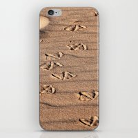 dune iPhone & iPod Skins featuring SAND DUNE  by CAPTAINSILVA