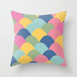 Scoops Throw Pillow