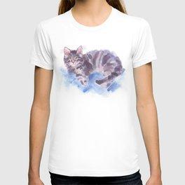 Azure Purr T-shirt
